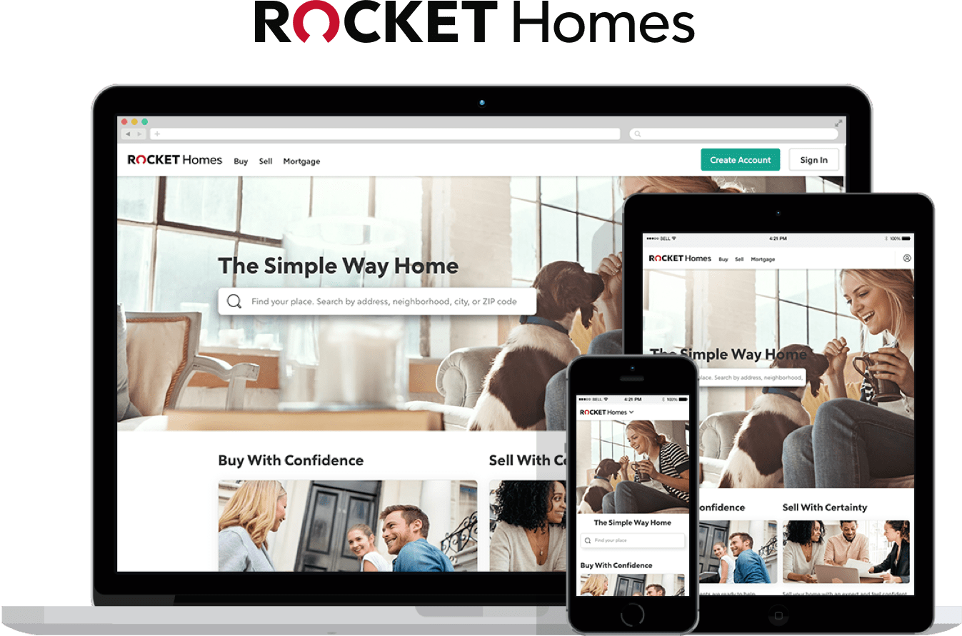 Rocket Homes Website